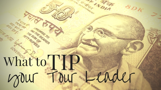 What to tip a tour leader
