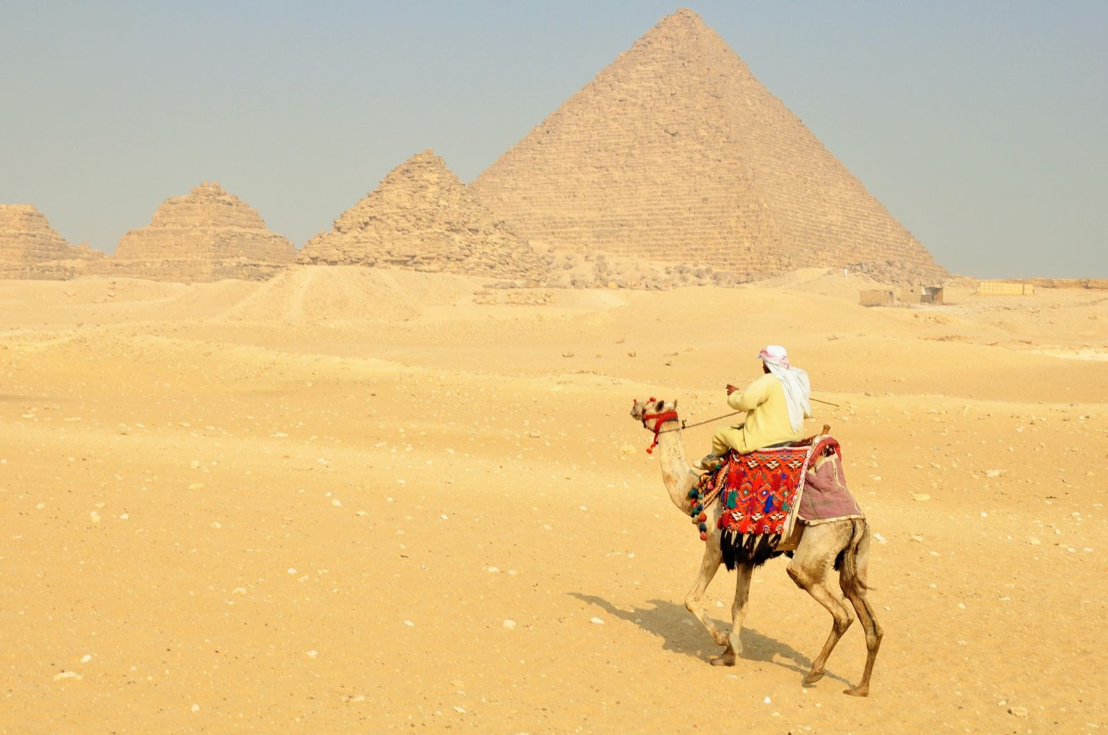 Pyramids of Giza & the Sphinx