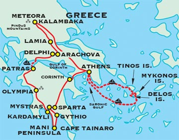 Ancient Greece Adventure Travel For 50 Plus