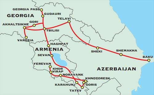 The Caucasus Adventure Travel for 50 plus