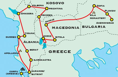 Albania macedonia bulgaria adventure travel for 50 plus with cobblestone streets roman ruins cosmopolitan cities quaint towns medieval monasteries and castles unesco sites and pristine nature publicscrutiny Choice Image