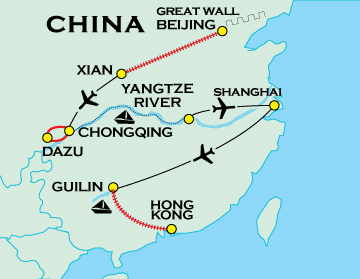 Classic China Adventure Travel For 50 Plus